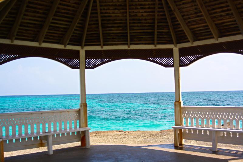 Seaside Gazebo with a view