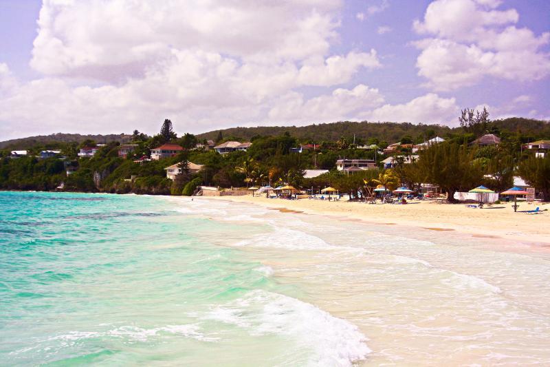 Beautiful white sand beaches