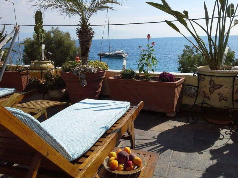 Veranda is ideal for sun bathing!