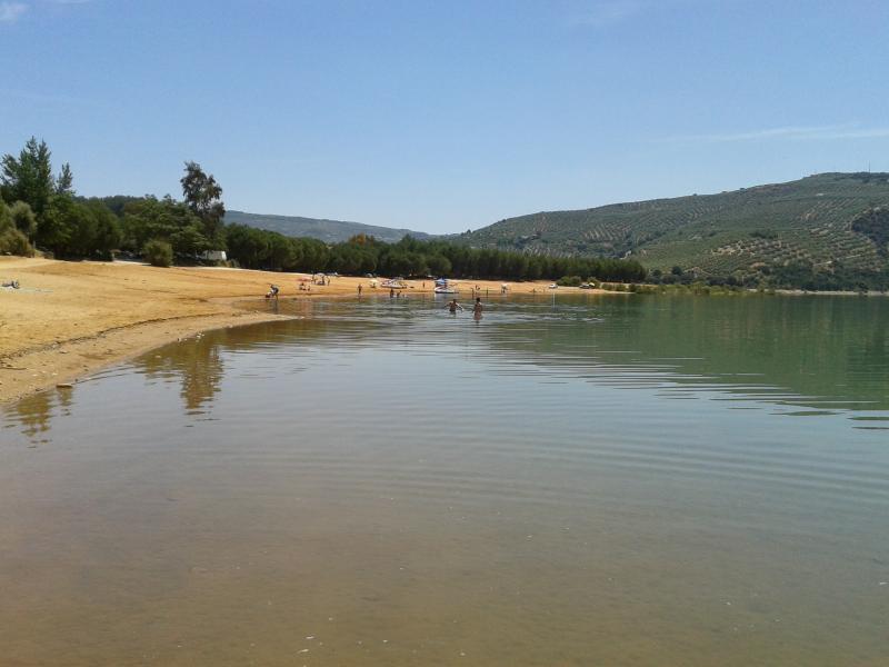 Beach at Lake Iznajar