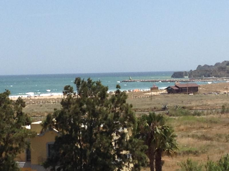 View from the apartment towards Donna Ana beach