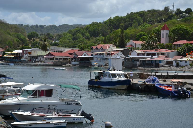 The litlle fisherman village of Deshaies is only at 4 km