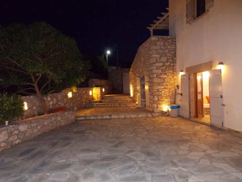 External view of Villa Cerigo/ Entrance
