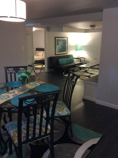 Dining/Living Room & Bedroom