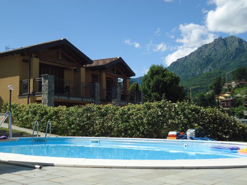 location near Menaggio with real quite