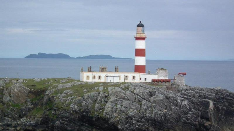 Scalpay lighthouse - one of many lovely walks in the area