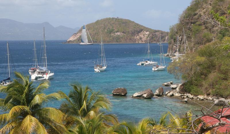 You can also travel to others litlle islands from Deshaies : here Les Saintes