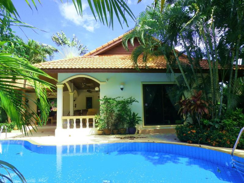 The Beautiful Pool Surrounding the Villa