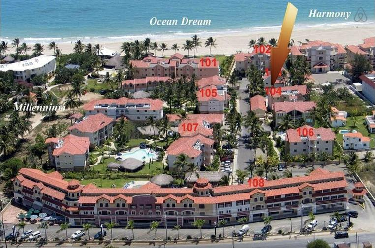 Location in Ocean Dream