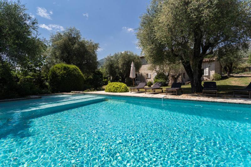 Villa les Oliviers - Great villa for large family with garden and pool, location de vacances à Tourrettes-sur-Loup