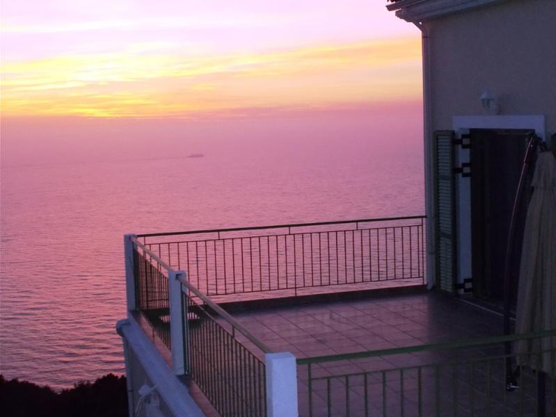 Romantic sunset...