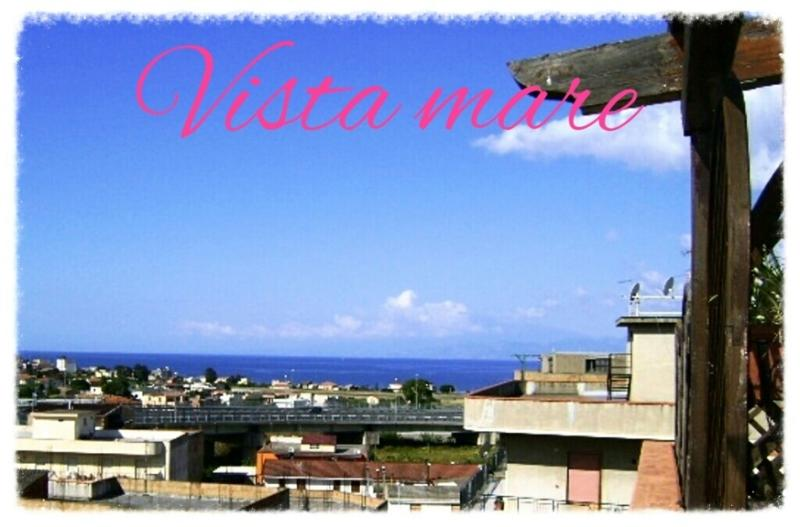 Panorama dai balconi sullo Stretto di Messina