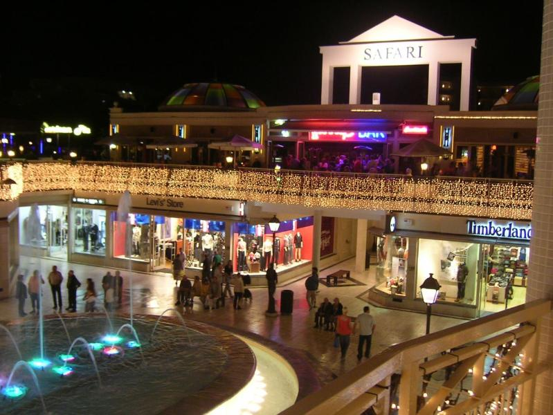 Safari Centre is also a large Shopping Centre with musical fountain!