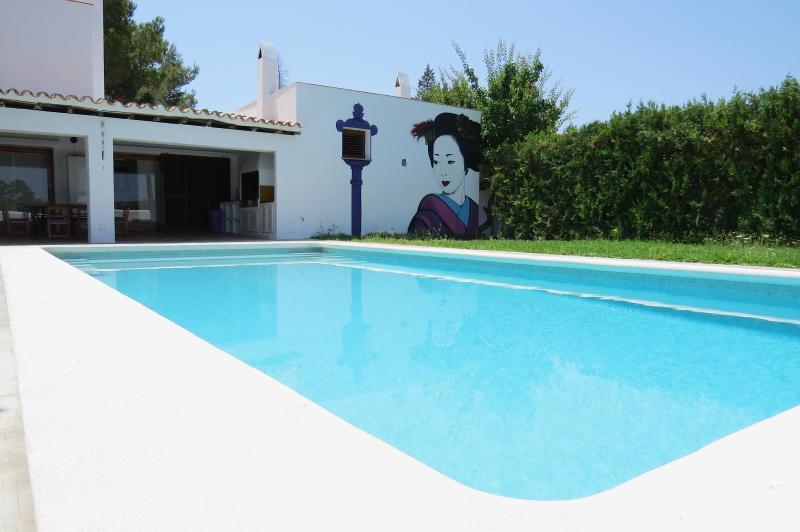 Gran piscina 10x5m