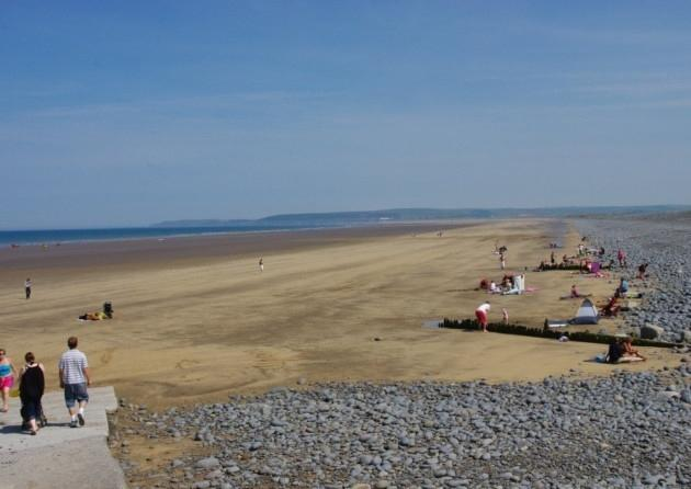 Westward Ho ! plage
