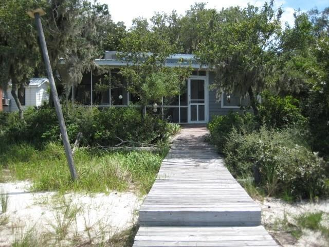 View of house from the pier