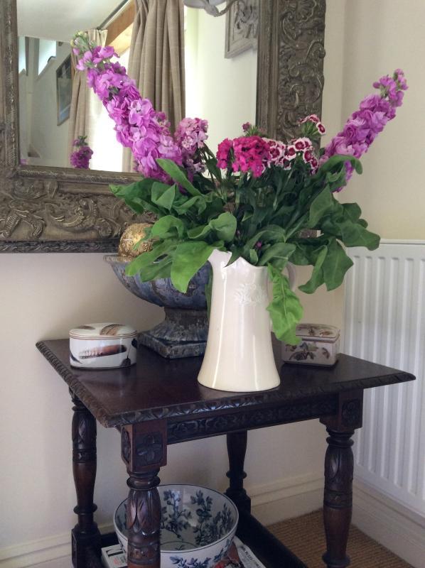 Hübsche Blumen aus dem Garten!