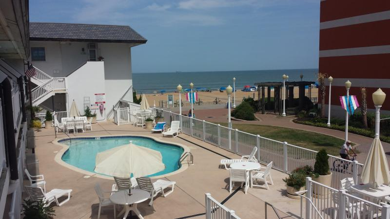 Pool Side Studio on Virginia Beach Oceanfront