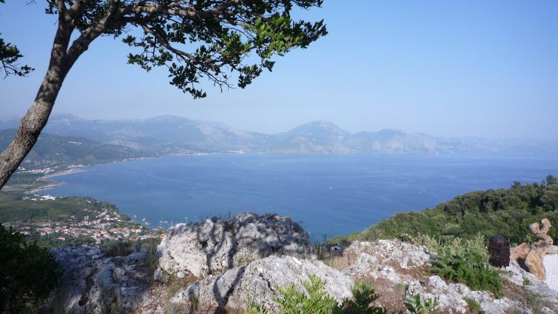 A vista do Cliff