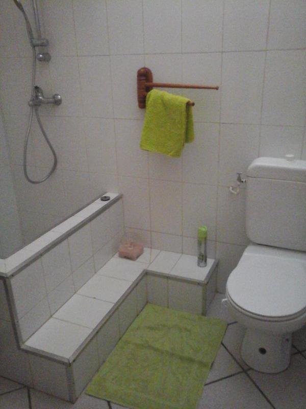 la douche et le wc