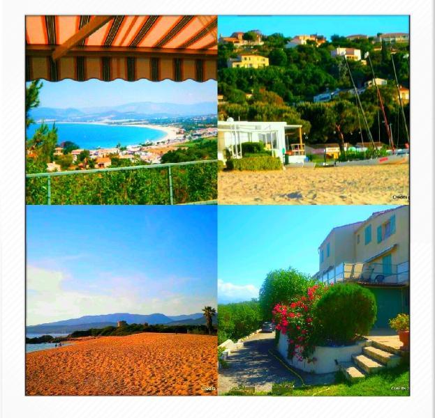 The Villa Marina Amata in its environment