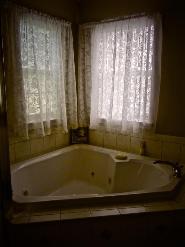 jacuzzi tub in the master ensuite