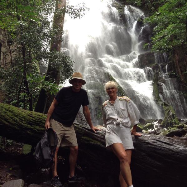 Rincon De La Vieja park and Waterfall