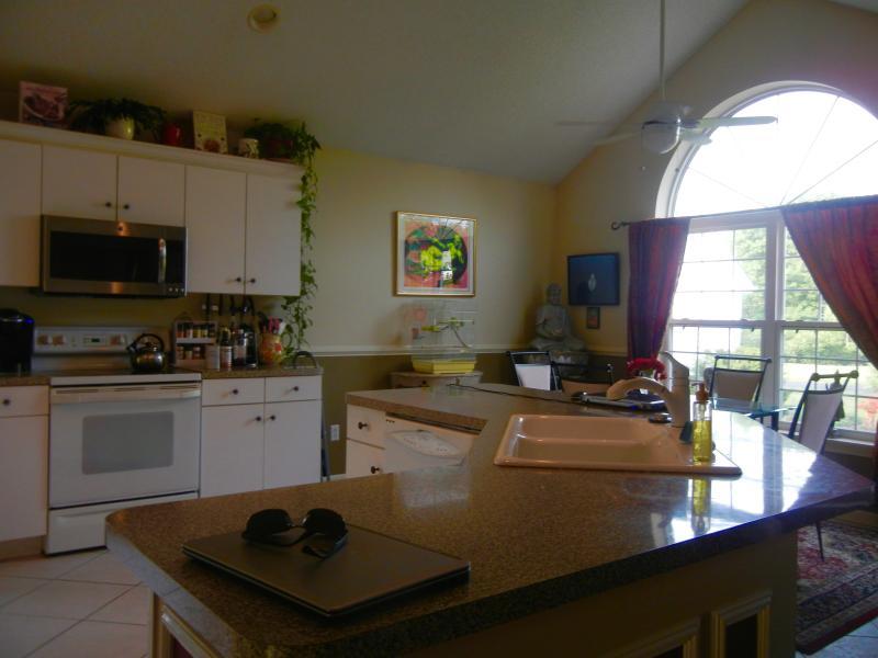 spacious eat-in kitchen