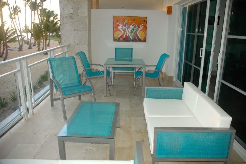 Huge 2nd floor terrace is perfect for morning coffee or relax with a glass of wine in the evening.