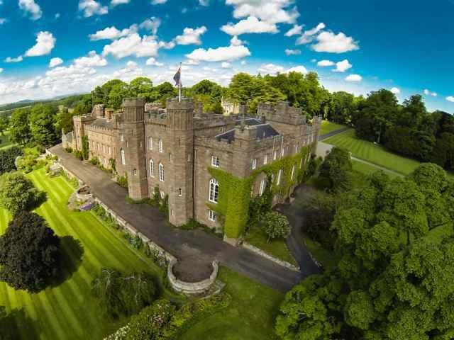 The Balvaird Wing at Scone Palace, holiday rental in Perth