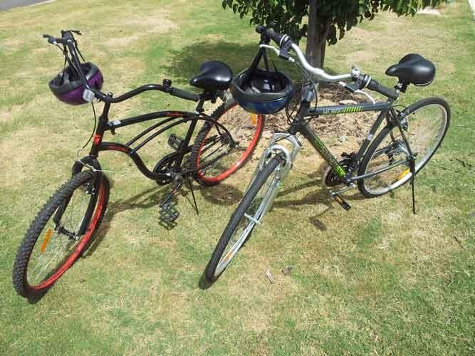 Bicycles for guests, free of charge