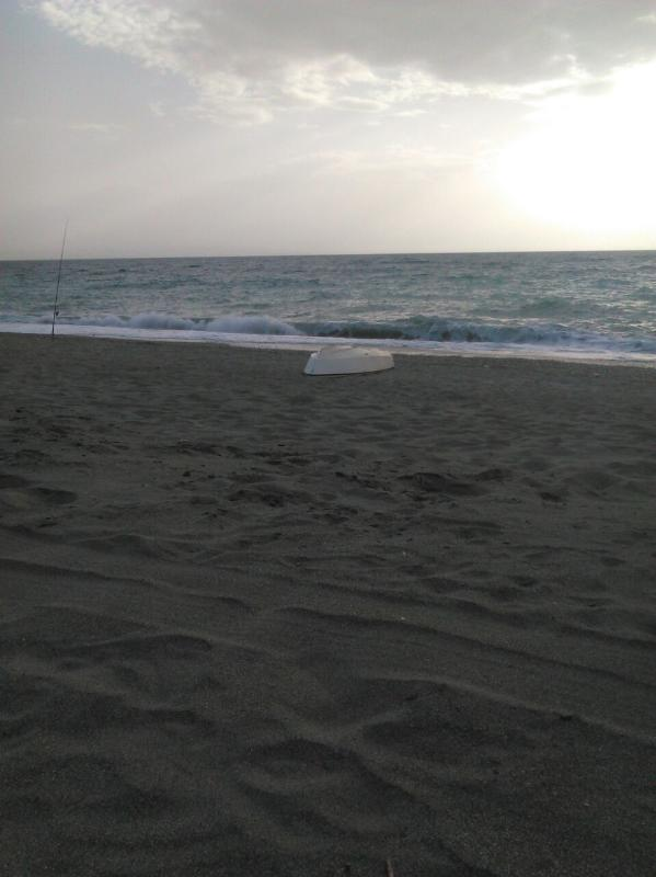 Evening View on Nocera Beach
