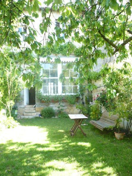 rear facade overlooking the garden