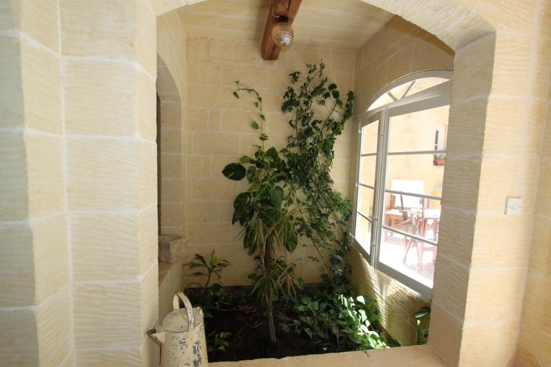 Planter in Entrance Hall