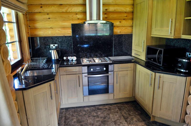 Fully equipped kitchen so you can cook some local dishes