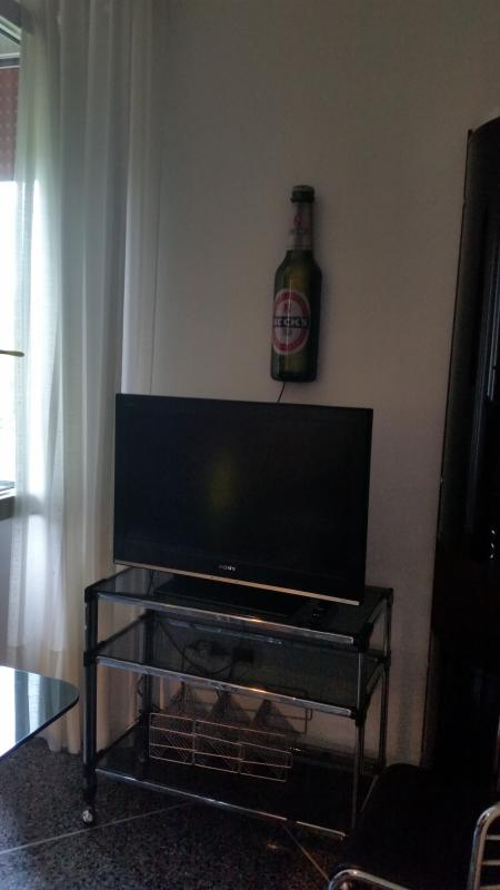la tv nel salone