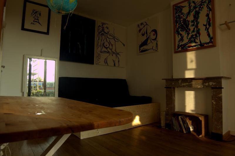 Artroom vista en bedcorner