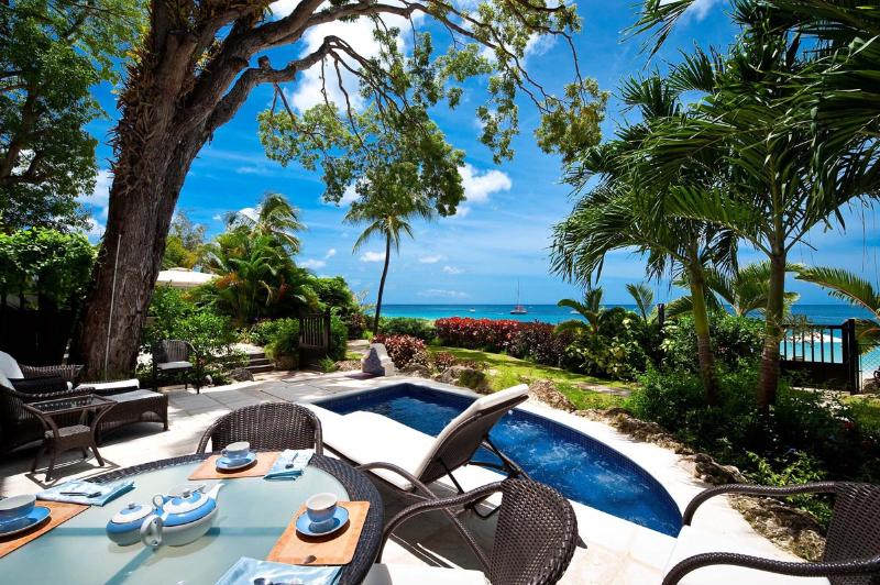 Coral Cove 2-The Mahogany Tree - Enjoy these amazing views from the comfort of your private patio and plunge pool