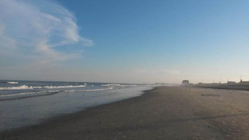 Beach two blocks away