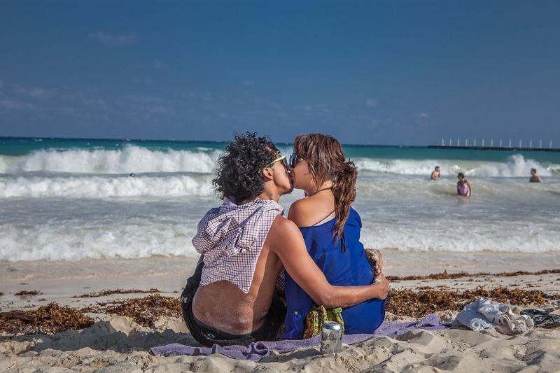 Love is in the air on the Mayan Riviera