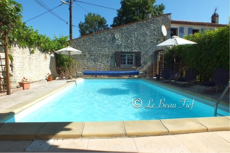 Independent cottage with private heated pool & charming walled courtyard, holiday rental in Saint Pierre de Juillers