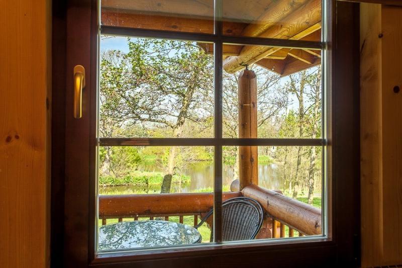 Quelle vue de la fenêtre de la cuisine