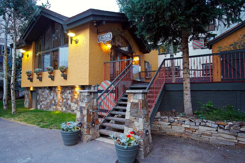The Lift House Lodge is located in the heart of Lionshead Village.