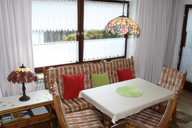 living room with direct access to the sunny balcony