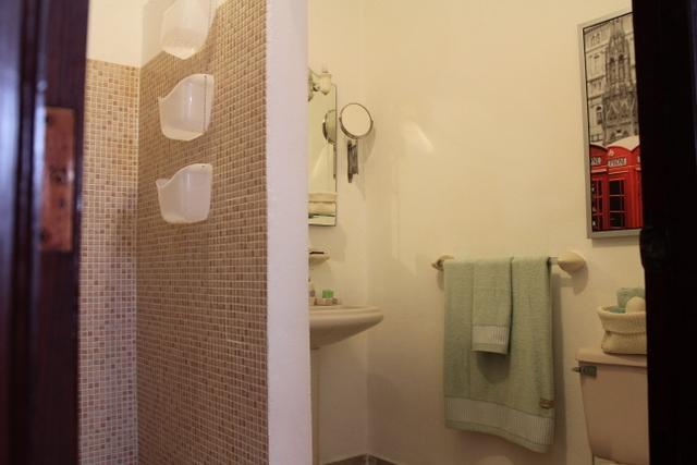 ensuite bathroom from bedroom #1