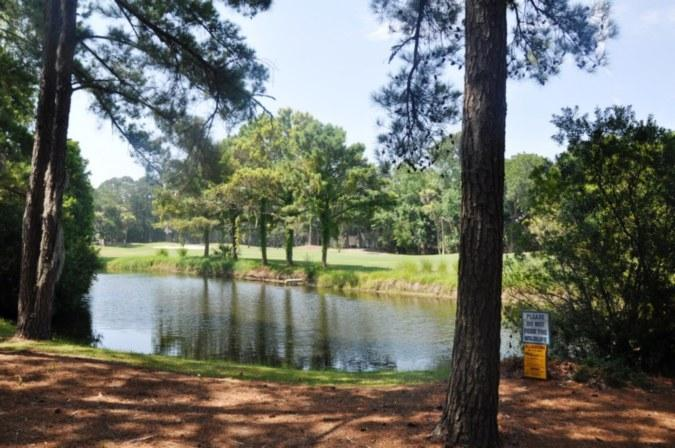 Excellent Lagoon and Golf Views Just Steps to the Beach!