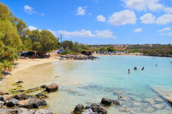 Sandy Beach In Tersanas
