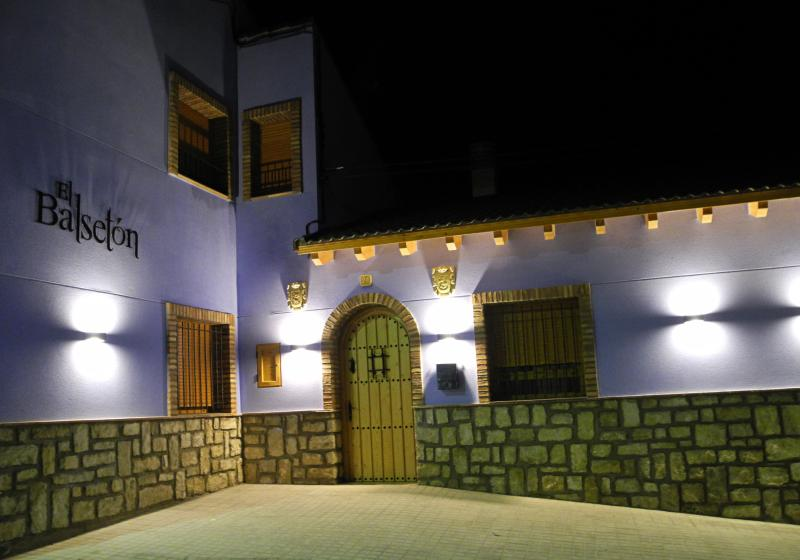 Exterior night view