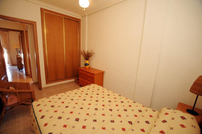Bedroom 2, with double wardrobes