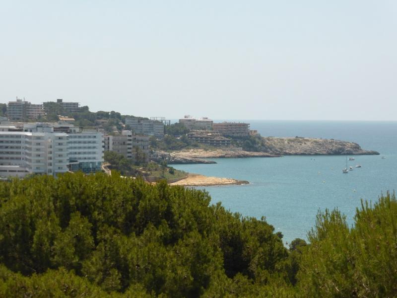 Views towards long beach